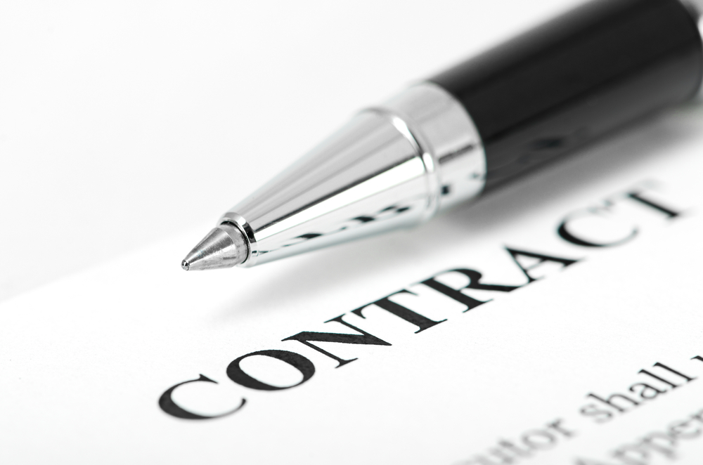 What does Subject to Contract mean?